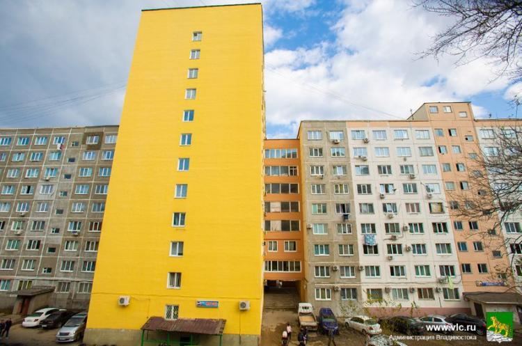 Ремонт фасадов на контроле депутатов и специалистов мэрии Владивостока