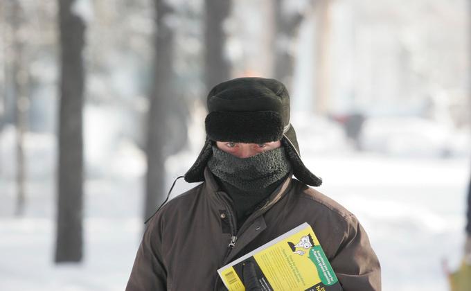 Аномальные холода до -28°С надвигаются на Новосибирск