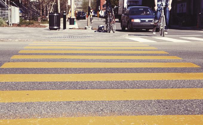 Только треть пешеходных переходов перед школами соответствует нормам