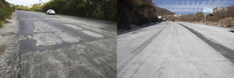 Основные ремонтные работы завершаются на дорогах Владивостока