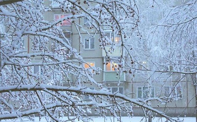 Перелом погоды: снег и морозы идут в Новосибирск