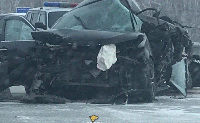 Двое человек погибли в ДТП под Новосибирском
