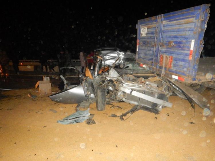 Два маленьких мальчика погибли в ДТП в Приморье