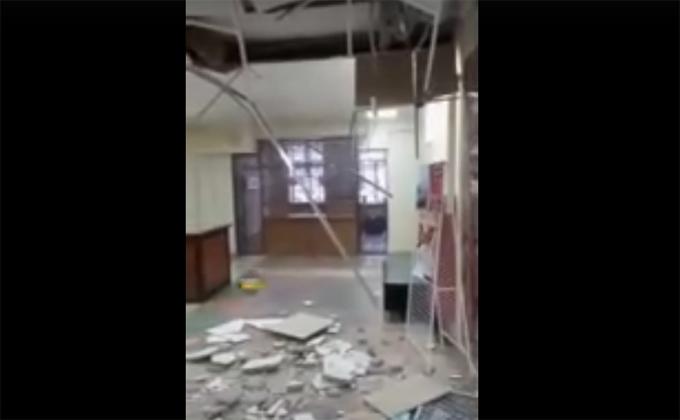 Обвал потолка в отремонтированном доме культуры заинтересовал прокуратуру
