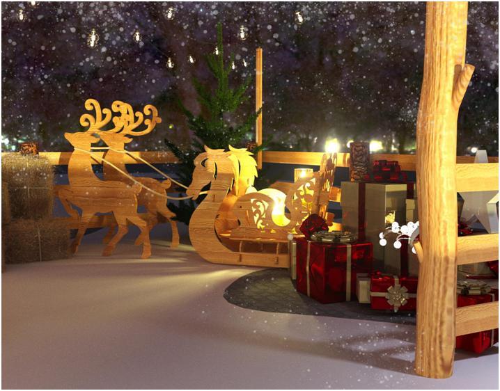 Дом Деда Мороза откроется в Челябинске