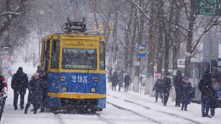 Во Владивостоке снова может пойти снег