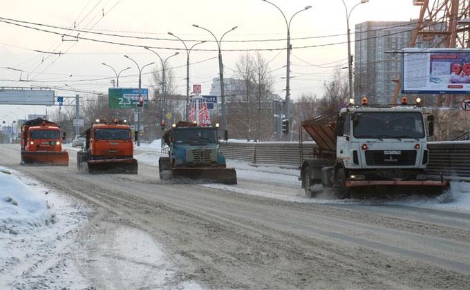 Самые неочищенные от снега улицы назвала прокуратура Новосибирска