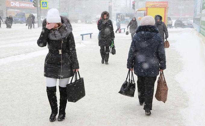 15% месячной нормы осадков выпадет за один день в Новосибирске