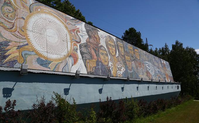 Самые знаменитые мозаики Новосибирска