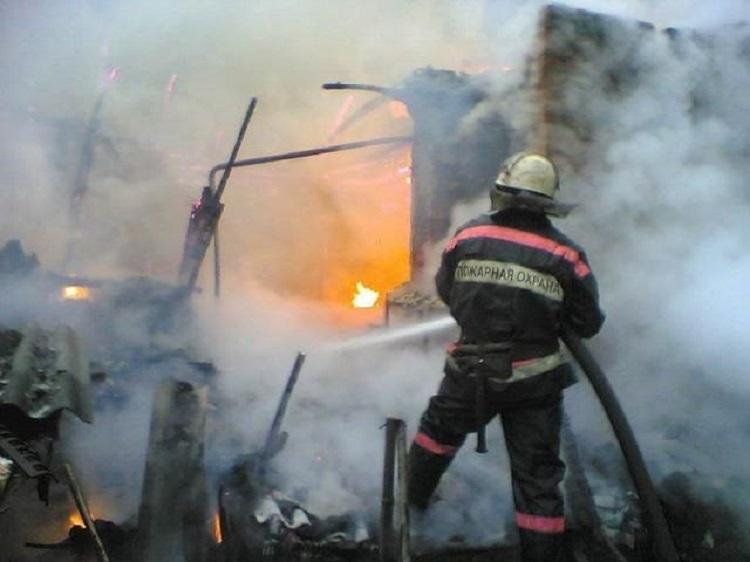 Крупный пожар потушили в Приморье