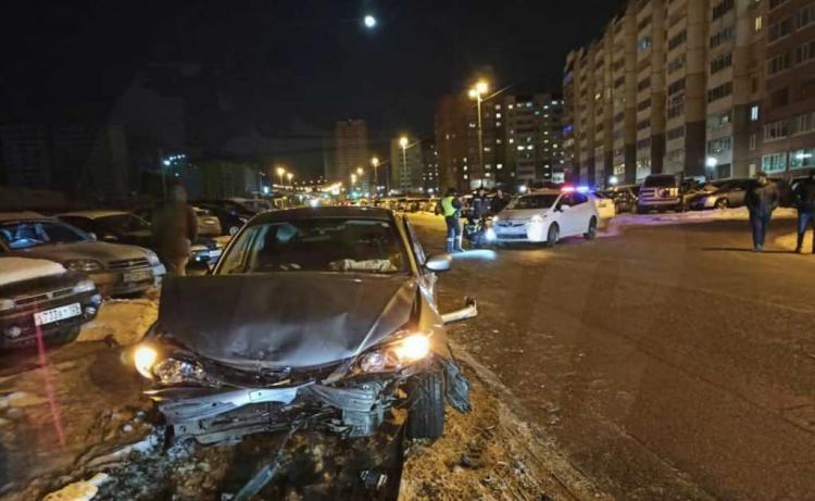 Массовое ДТП произошло минувшей ночью во Владивостоке
