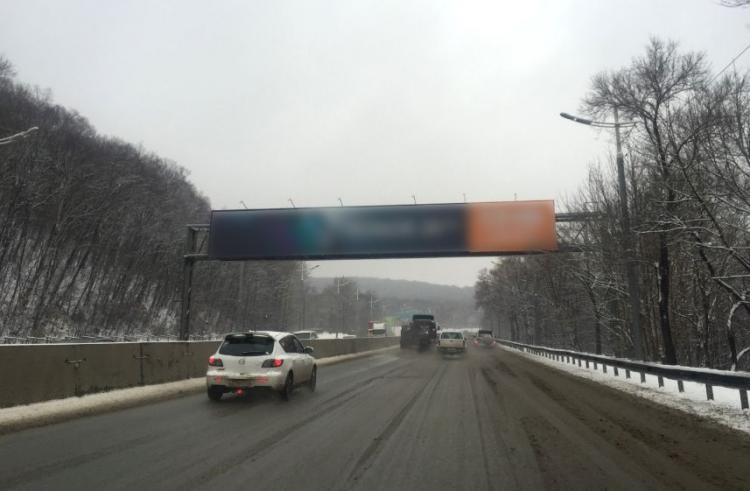 В пригороде Владивостока ограничат движение