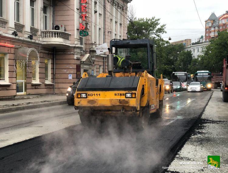 Стало известно, кто будет ремонтировать улицу Крыгина во Владивостоке