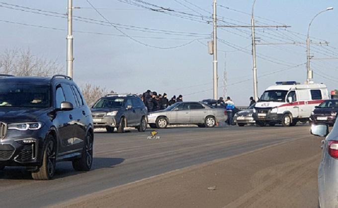 Водитель погиб в аварии в Новосибирске