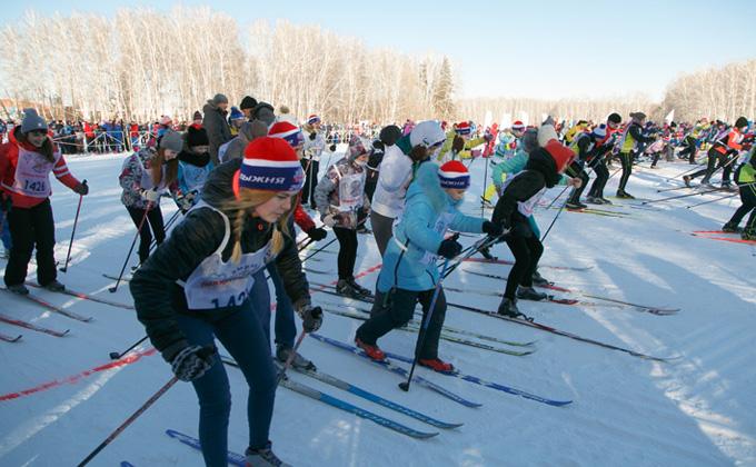 Чипировать 400 участников «Лыжни России 2020» собираются в Новосибирске
