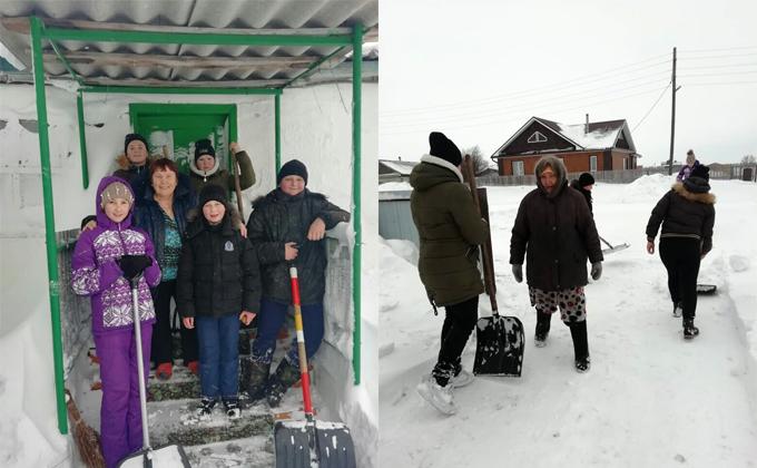 Подростки спасли из снежного плена 50 стариков под Новосибирском