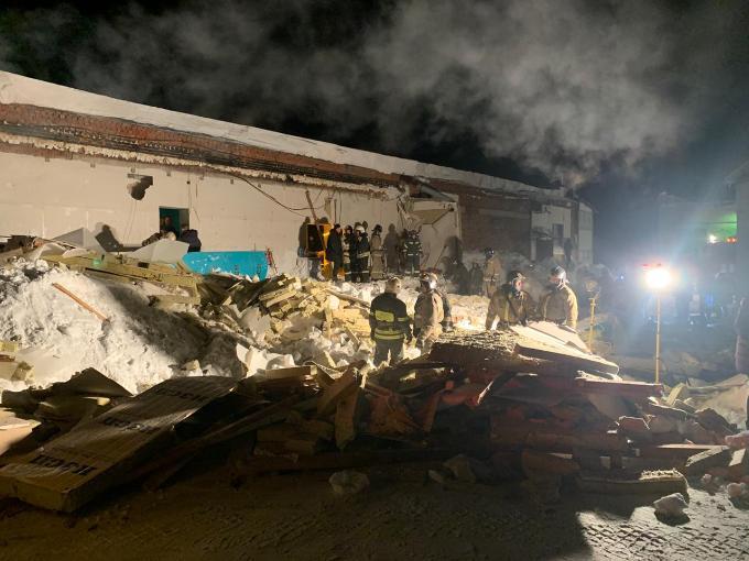 Следком возбудил дело по факту обрушения кафе в Новосибирске