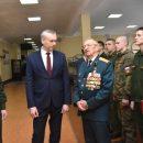 Андрей Травников поздравил ракетчиков Глуховской дивизии с 23 февраля