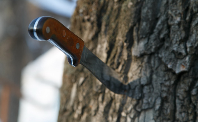 Ножом в голову ранил собутыльника мужчина в Новосибирске