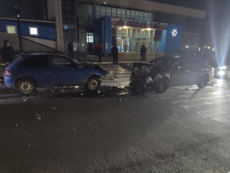 Жёсткое лобовое ДТП произошло в Приморье