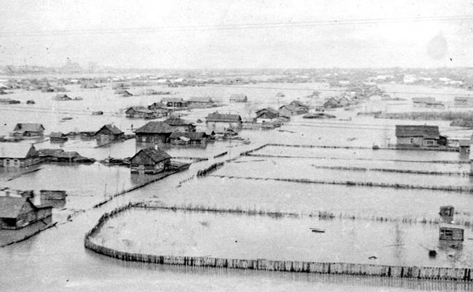 Самые масштабные паводки в истории районов НСО – годы