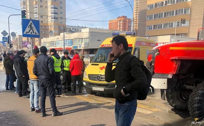 Двое детей пострадали в ДТП в Новосибирске