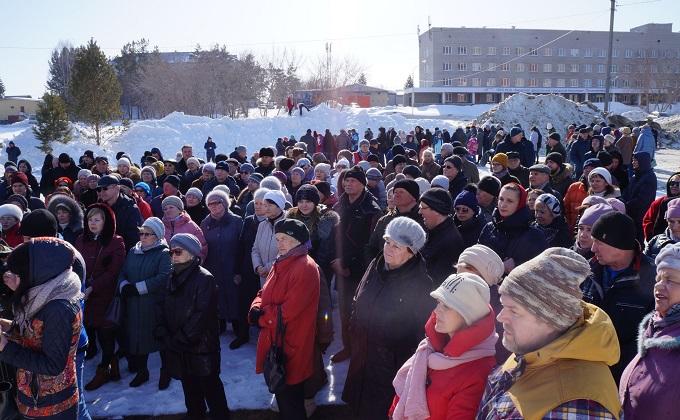 Митинг против создания исправительного центра прошел в Бердске