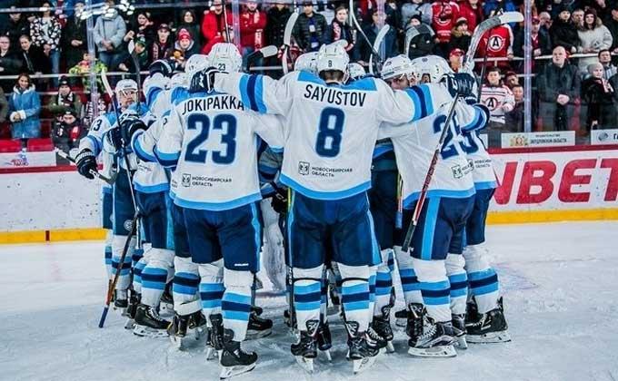 ХК «Сибирь» прорвался в полуфинал Восточной конференции КХЛ