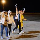 Юные спортсмены, застрявшие в Киргизии, прилетели домой в Новосибирск