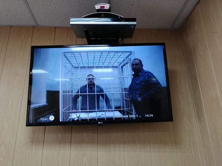 Суд по делу Пушкарёва возобновился во Владивостоке