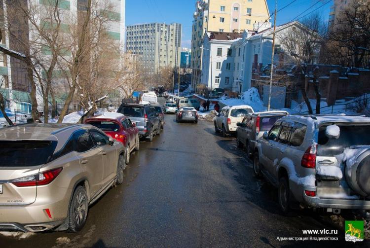 Во Владивостоке изменится схема движения на улице Тигровая