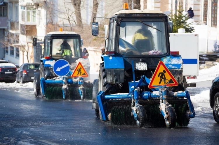 Дорожные службы Владивостока готовы к ликвидации последствий непогоды