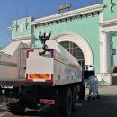 Дезинфекцию Новосибирска начали спецбригады МЧС