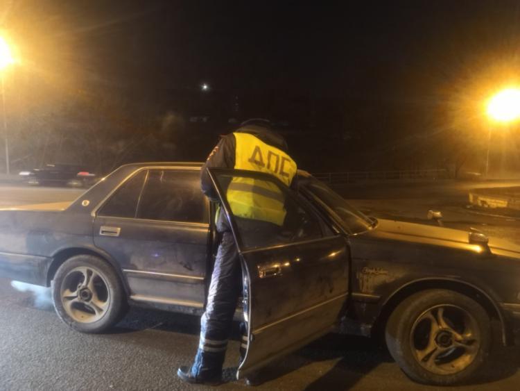 Более 30 нетрезвых водителей были задержаны в выходные во Владивостоке