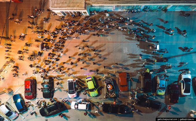 Полиция нашла организаторов ночной вечеринки на площади Ленина