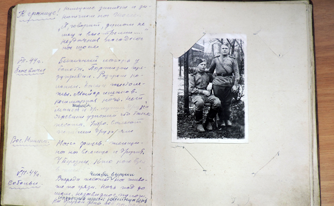 Фронтовой дневник прадеда расшифровала жительница Искитимского района