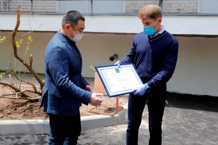 Новый госпиталь для пациентов с COVID-19 открыли в Приморье