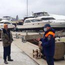 Рейды по базам стоянок маломерных судов провели в Приморье