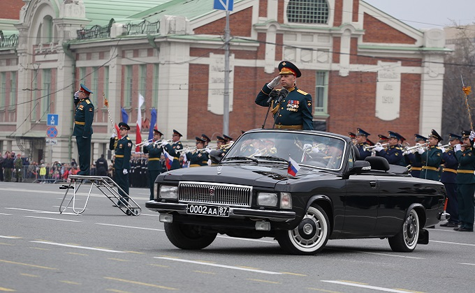 Юнармейцев, волонтеров и СМИ пригласят на Парад Победы 24 июня