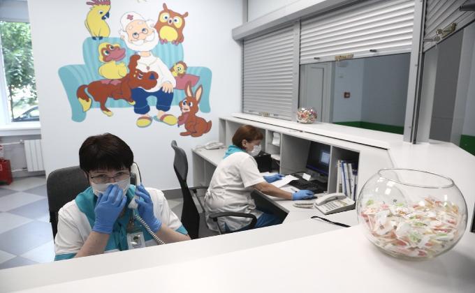 Детскую поликлинику отремонтировали в рамках нацпроекта в Новосибирске