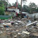Дом многодетных разрушил до основания буйный 50-летний мужчина в Мочище
