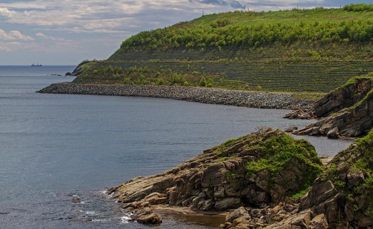 «Рисовые террасы» появились на месте знаменитой свалки на Горностае