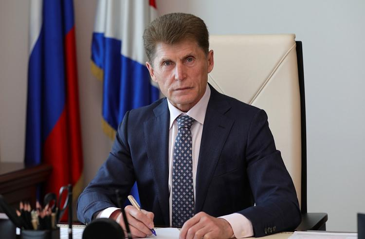 Губернатор края поздравил приморцев с Днем России