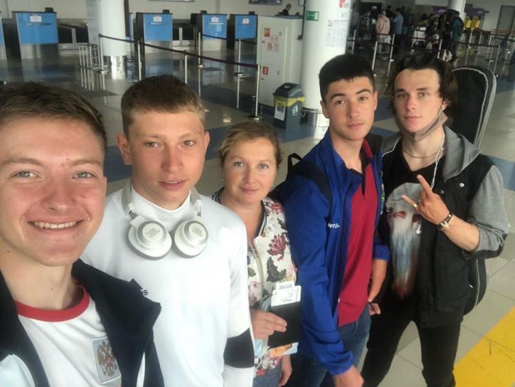 Гребцы из Приморья улетели в Краснодар