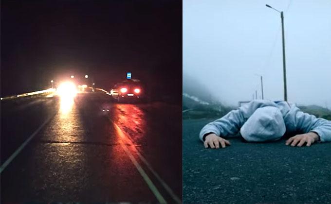 Машина задавила лежавшую на дороге девочку – обвиняют новый челлендж