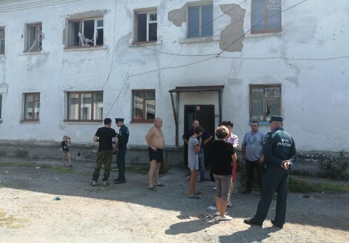 Два взрыва бытового газа: госпитализированы жители Барабинска и Куйбышева