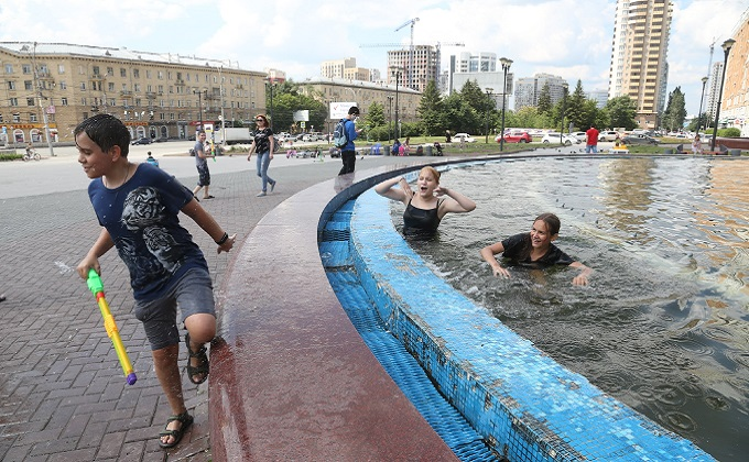 Ивана Купалу убили коронавирус и отключенные фонтаны