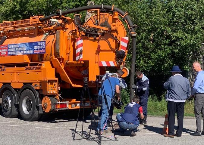 В селе Ташара Мошковского района решили многолетнюю проблему с канализацией