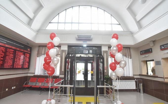 Новый вокзал открыли на станции Сокур