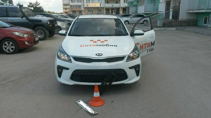 Таксист сломал нос ребенку-велосипедисту в Новосибирске